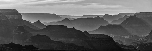 Grand Canyon Silhouettes