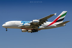 Airbus A380-861 A6-EOQ Emirates