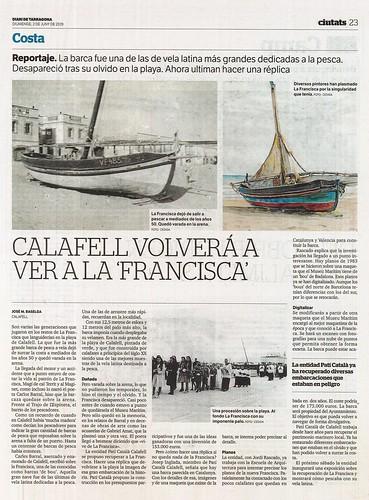 Article sobre l'exposició al Diari de Tarragona