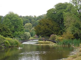 The Iron Bridge, Stourhead Estate SWC Walk 342 - Bruton Circular (via Stourhead)
