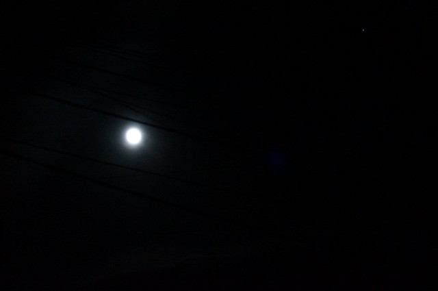 Not strawberry, but full moon