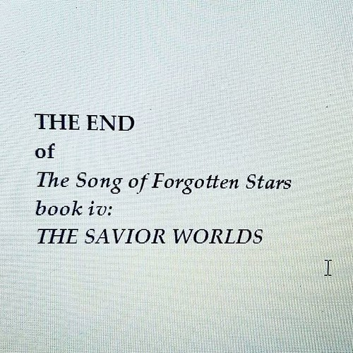 DONE! To the beta readers the second draft goes! #amwriting #writersofinstagram #sciencefiction #spaceopera #forgottenstars
