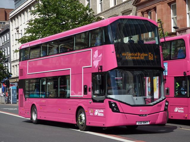 Citybus (Metro) Belfast
