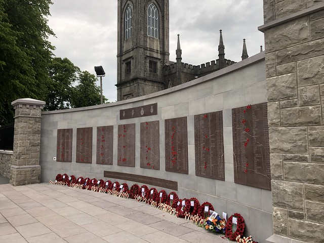 Dedication of the County Armagh Memorial Wall