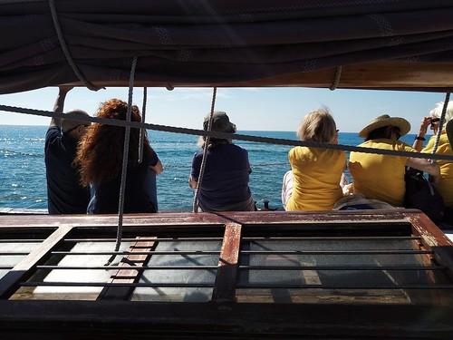 A bord del Ciutat de Badalona
