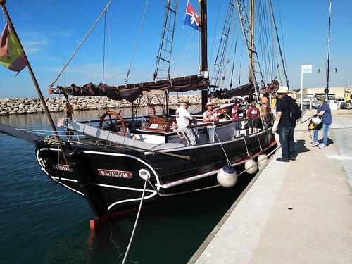 El Quetx al port Segur-Calafell