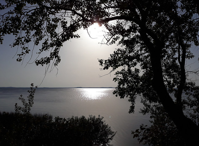 Sunset at Curonian Lagoon 02