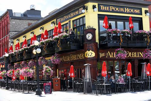 The Aude Dubliner/ Pour House