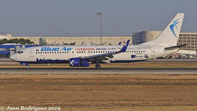 YR-BMH - Blue Air - Boeing 737-8K5(WL) - PMI/LEPA