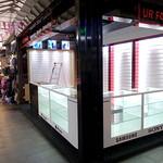 Extended mobile phone stall at Preston Market