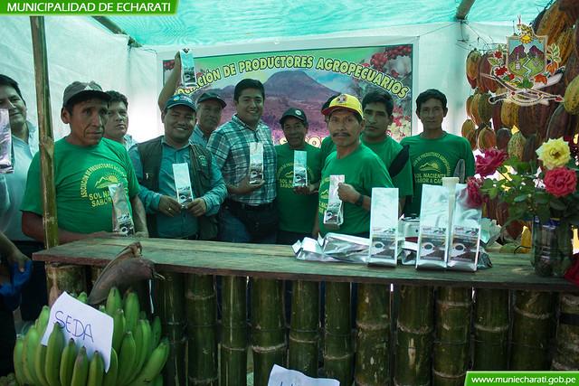 Productores agropecuarios participaron en aniversario de Kepashiato