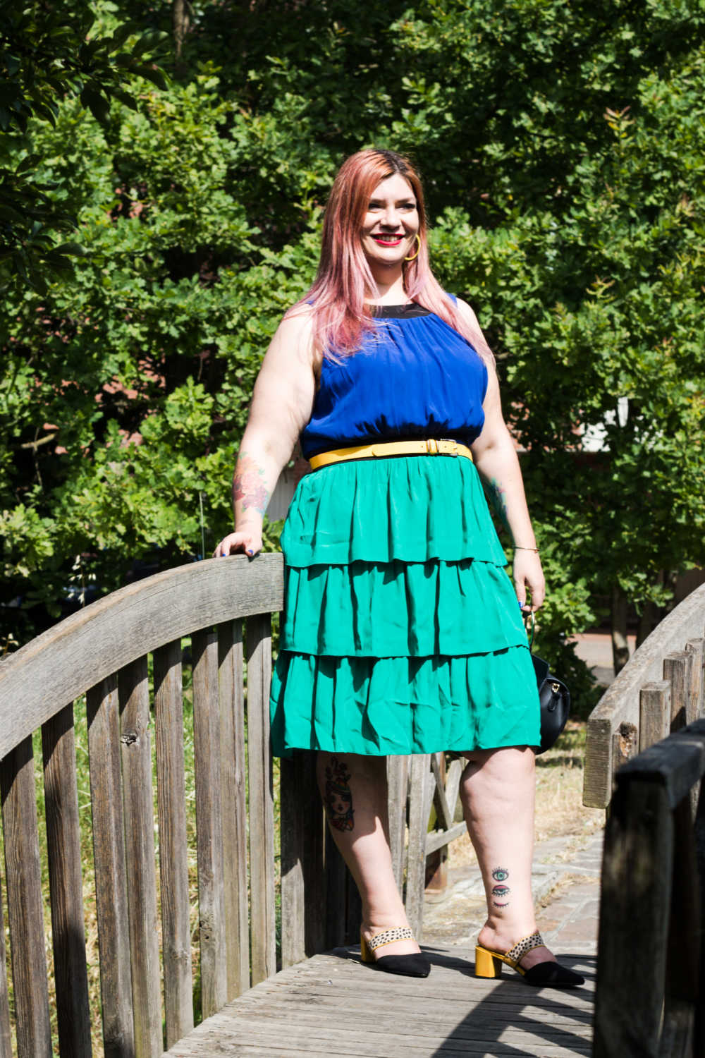 Outfit colorblock curvy (6)