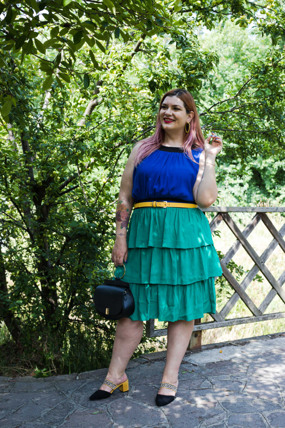 Outfit colorblock curvy (4)
