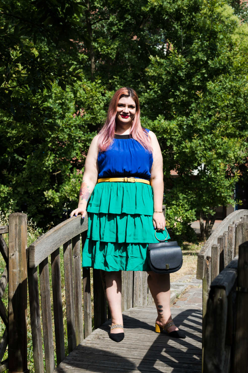 Outfit colorblock curvy (3)
