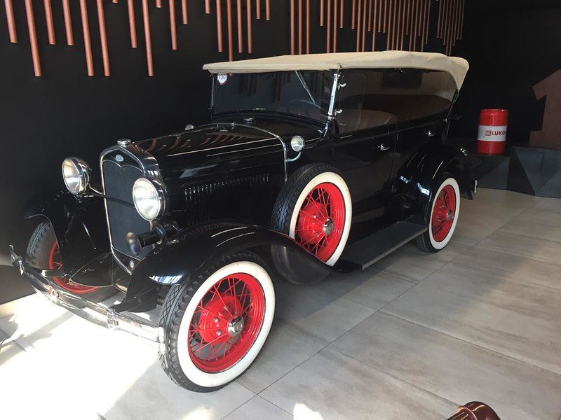 Музей ретроавтомобилей в Новокузнецке - ГАЗ-А