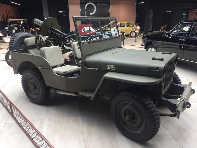 Музей ретроавтомобилей в Новокузнецке - Виллис