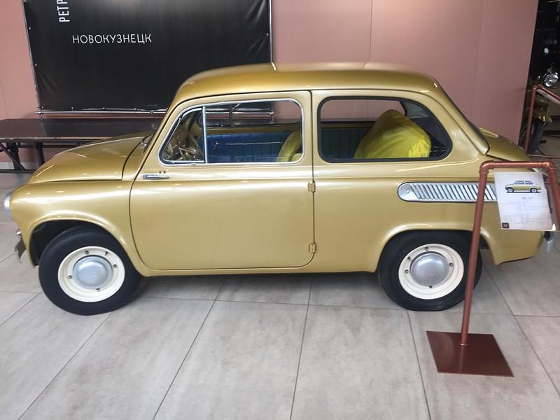 Музей ретроавтомобилей в Новокузнецке - Запорожец ЗАЗ-965
