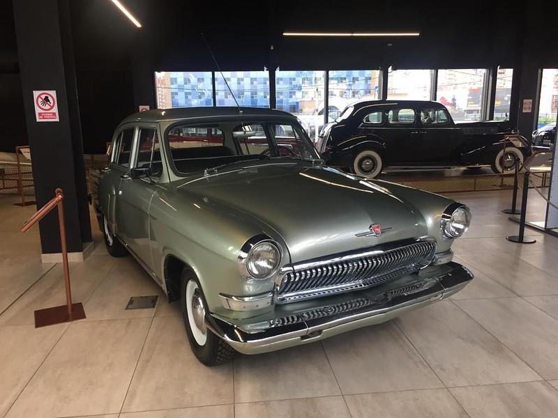 Музей ретроавтомобилей в Новокузнецке - Волга ГАЗ-21
