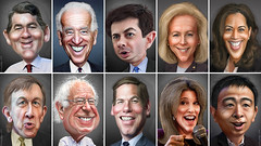 Democratic Primary Debate Participants June 27, 2019