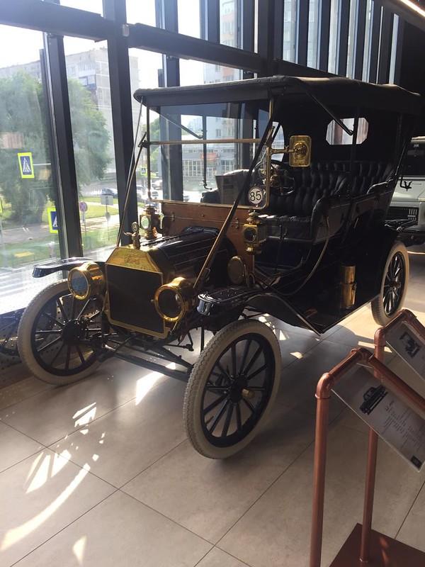 Музей ретроавтомобилей в Новокузнецке - Форд