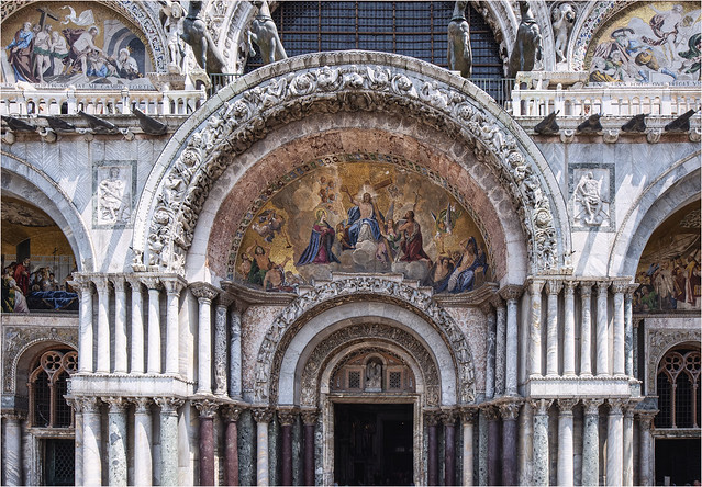 Part of the Basilica di San Marco (St. Mark's Basilica)