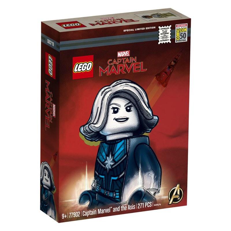 SDCC Captain Marvel Box