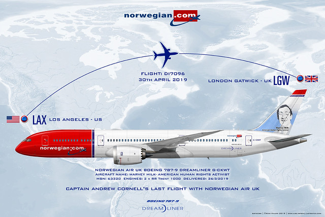 Norwegian UK 787-9 Captain Andy Cornell