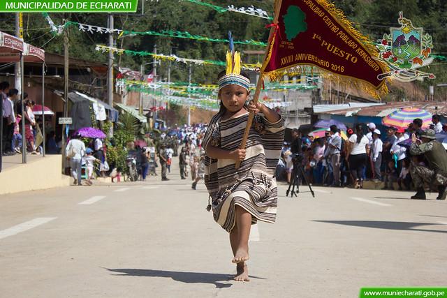 Kepashiato celebró 31 aniversario de creación política