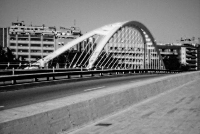 Puente de Calatrava-03. Barcelona. Pinhole. Estenopeica-18-06-2019