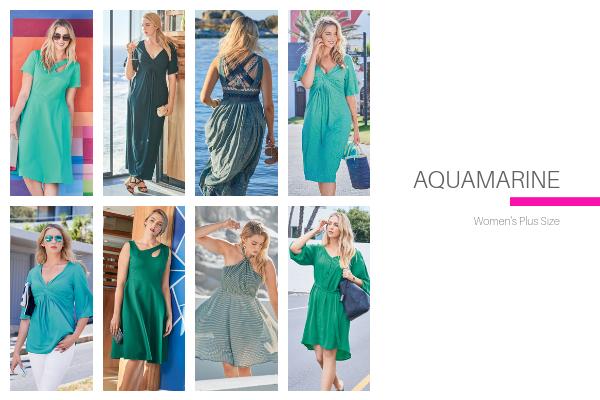 Aquamarine Plus Size Collection