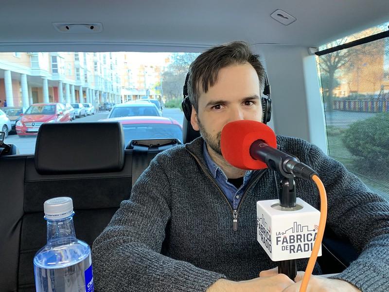 Foto TIB 2019 06 17 Pablo Juanarena y Gorka Zumeta la Fabrica de Radio