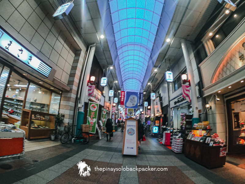 FUKUOKA TOURIST SPOTS - KAWABATA SHOPPING STREET