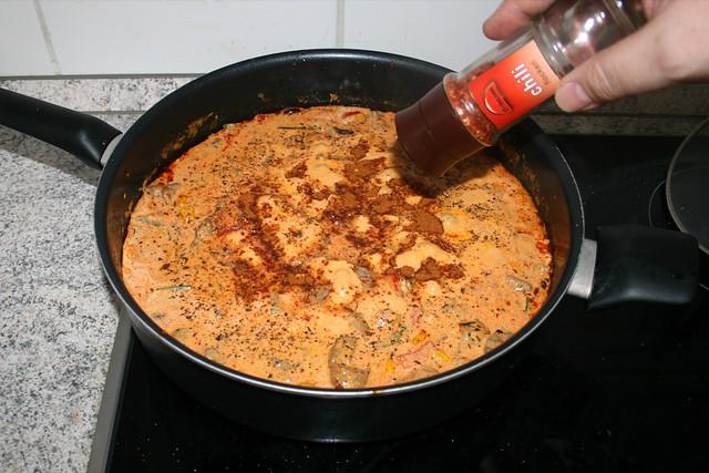 20 - Mit Gewürzen abschmecken / Taste with seasonings