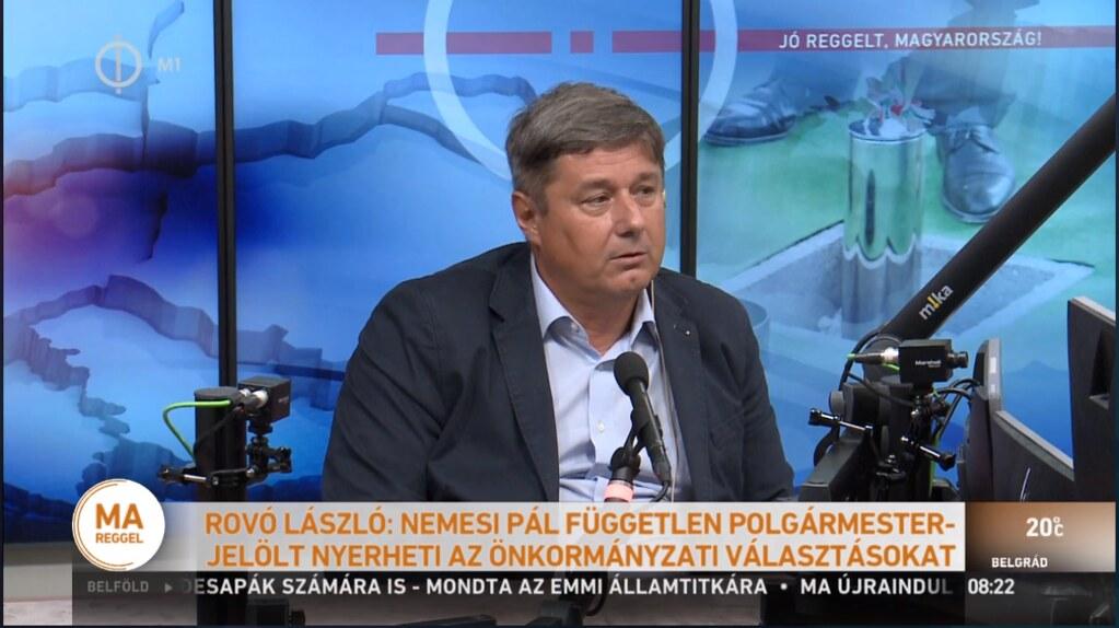Róvó László nagyon aggódik az egyetem politikai függetlenségéért