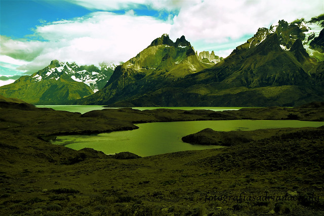 mountains and lagoons
