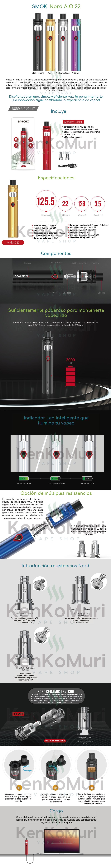 cigarroelectronico-vapeador-smok-nordaio22-mexico-kenkomuri