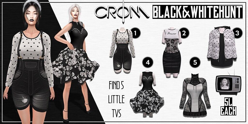 -CroM- Black&White HUNT