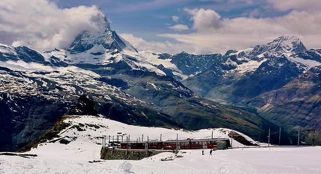 Schweiz, Rund um Zermatt, Matterhorn , Gornergratbahn, 76731/11612