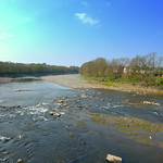 Low tide at the Ribble in Preston
