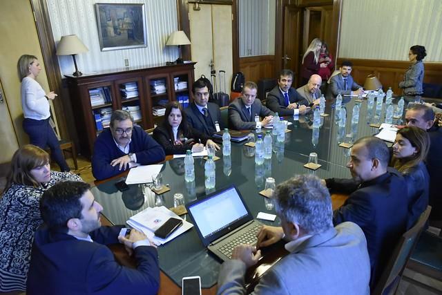 Reunión del Frente Parlamentario contra el Hambre