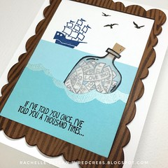 Happy Father's Day - Stampin' Up - Message In A Bottle
