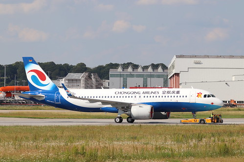 A320neo Chongqing Airlines B-307S | by XFW-Spotter
