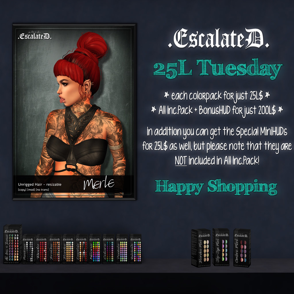 .EscalateD.| 25L Tuesday | 18.June.19 - TeleportHub.com Live!