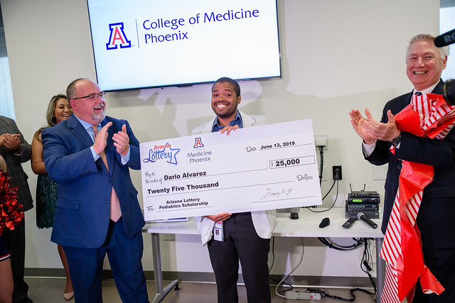 Fourth-Year Student Surprised with Scholarship