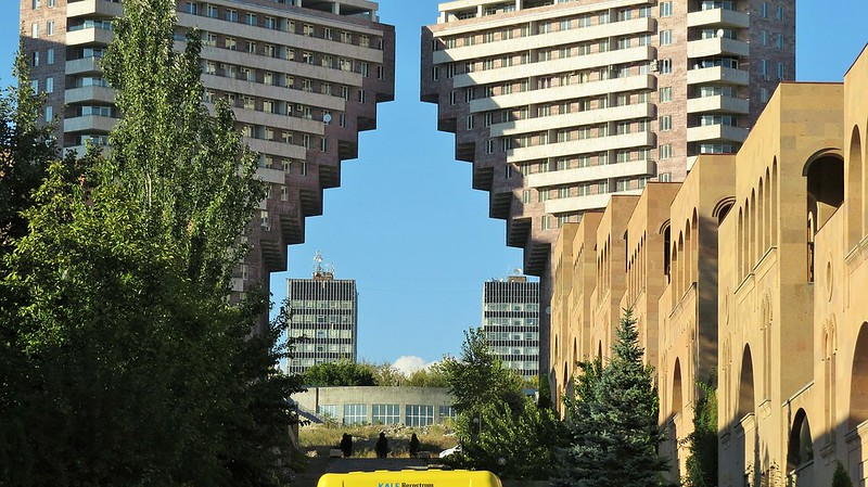 Brutalism, Yerevan