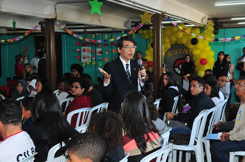 Centro Interescolar de Línguas oferece idioma japonês