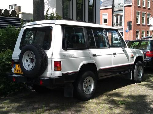 1987 Mitsubishi Pajero Van Photo