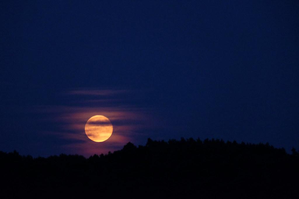 Wschód księżyca / Moonrise