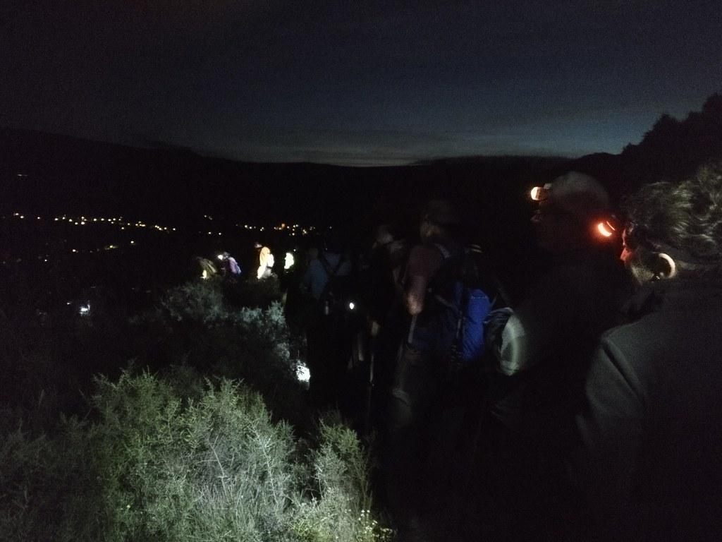 MARCHA-0558 Ruta Nocturna Arroyo Puente-Arenas, Burgos