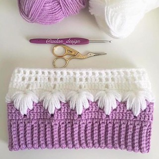 Crochet the Puff Spike Stitch